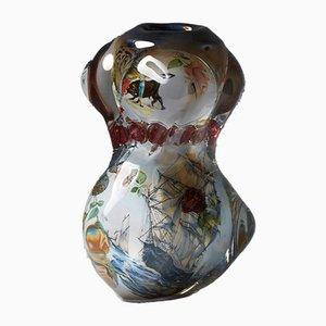 Fabula Vase von Per B Sundberg für Orrefors, Schweden, 2003