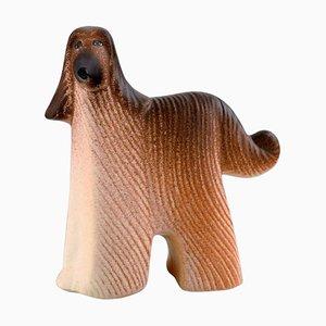 Dog in Glazed Ceramic by Lisa Larson for K-Studion & Gustavsberg