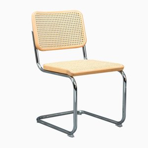 Bauhaus Beech S 32 Cantilever Chair by Marcel Breuer for Thonet, 2001
