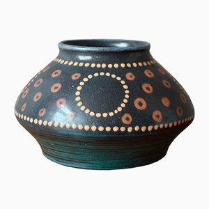 Art Nouveau French Vase by Léon Elchinger for Ceramics Elchinger, 1900s