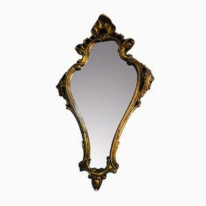 Antique Rococo Giltwood Mirror