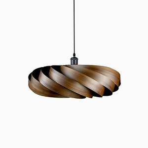 Walnut Andromeda Pendant Lamp by Manuel Döpper