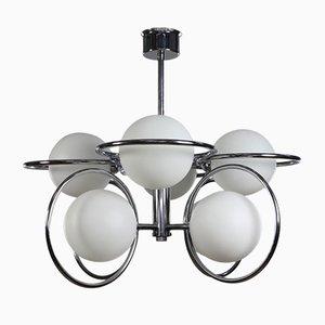 Skulpturale Vintage Orbit Deckenlampe