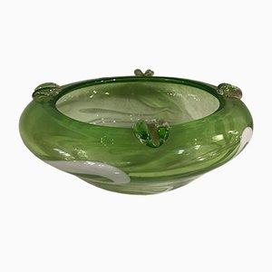Piatto in vetro di Murano, anni '50