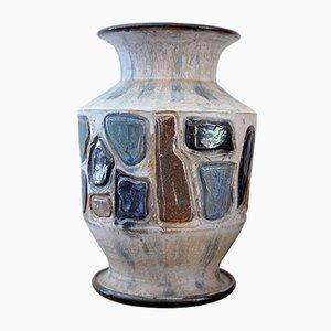 Mid-Century Belgian Ceramic Vase, 1950s