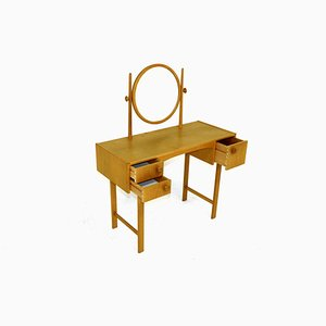 Swedish Oak Dressing Table, 1960s