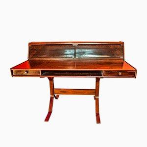 Palisander Modell 530 Schreibtisch von Gianfranco Frattini für Bernini, 1950er
