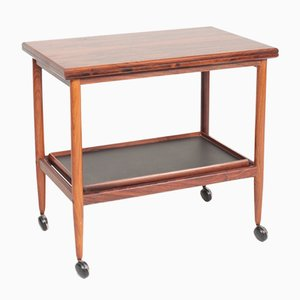 Mid-Century Rosewood Trolley by Grete Jalk for Poul Jeppesens Møbelfabrik