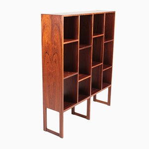 Mid-Century Danish Freestanding Rosewood Wall Unit, 1960s