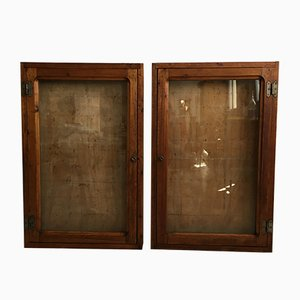 Display Cabinets, 1940s, Set of 2