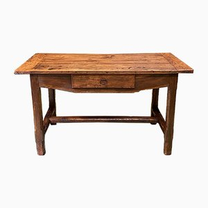 18th Century Cherry Wood Farm Table