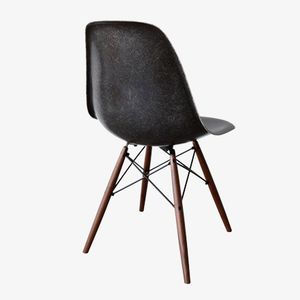 Black DSW Chair by Charles and Ray Eames for Herman Miller