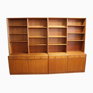Swedish Teak Wall Unit from Bodafors, 1960s