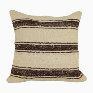 Handmade Natural Turkish Kilim Cushion Cover