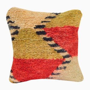 Tulu Cushion Cover Fashioned from a Mid-20th Century Tulu Rug