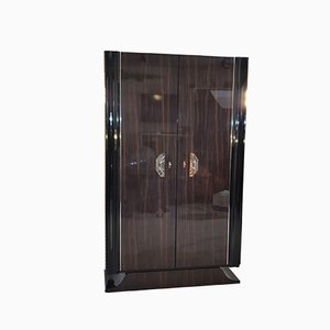 Art Deco Style Macassar Cabinet Luxury Furniture