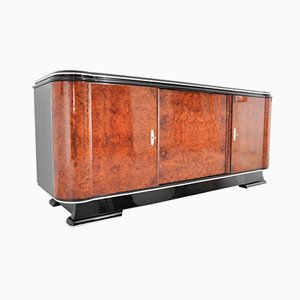 Art Deco Amboina Wood Sideboard or Buffet, 1920s