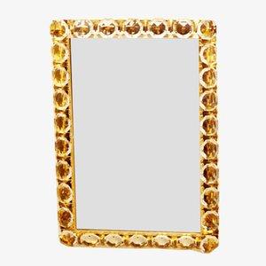 Specchio vintage in cristallo di Bakalowits & Sohne