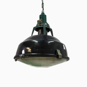 Black Pendant Soviet Factory Light