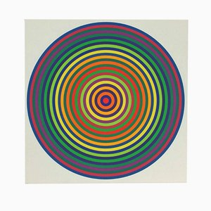 Screenprint 42/200 by Julio Le Parc, 1972