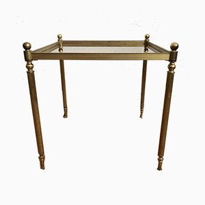 Mid-Century Gold Brass Table, 1970s