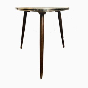 Table with a Resopal Covered Wooden Top on Wooden Legs, 1950s