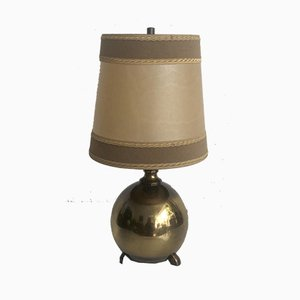 Table Lamp in Brass, 1950s