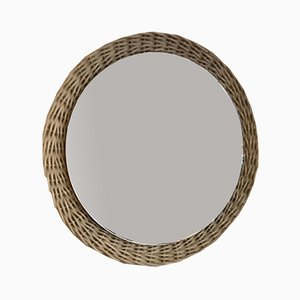 Round Wall Mirror, 1970s