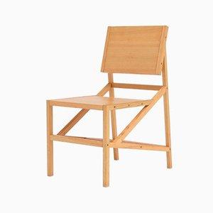 Walk the Line Ash Wood Chair by Deevie Vermetten for Fermetti Atelier Belge, 2012