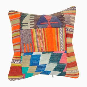 Patchwork Kilim Cushion Cover Cover