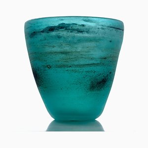 Mid-Century Murano Glass Scavo Vase from Cenedese