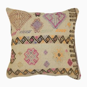 Organic Embroidered Rare Pattern Turkish Cushion Cover