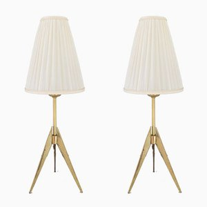 Table Lamps by J. T. Kalmar, 1950s, Set of 2