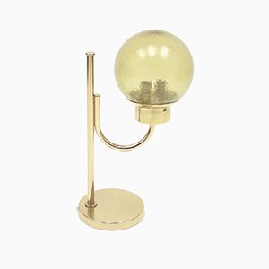 Brass Model B-090 Table Lamp from Bergboms, 1970s