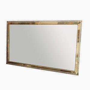 Vintage Brass Mirror, 1960s