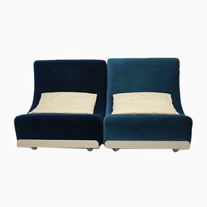 Vintage Orbis Lounge Chairs by Luigi Colani for Cor Sitzcomfort, 1970s, Set of 2