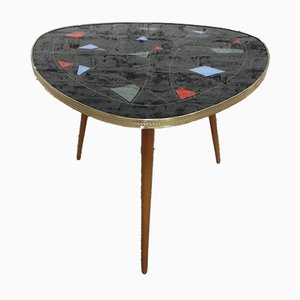 Vintage Coffee Table with Triangular Top, 1950s