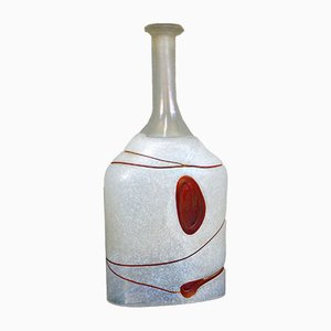 Swedish Bottle by Bertil Vallien for Kosta Boda, 1980s
