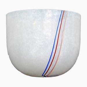 Jarrón modelo Rainbow sueco de vidrio de Bertil Vallien para Kosta Boda, años 80