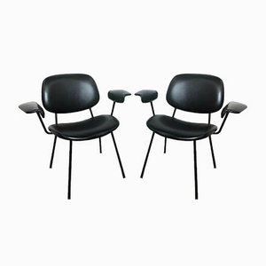 Italian Desk Chairs by BBPR for Olivetti Synthesis, 1960s, Set of 2