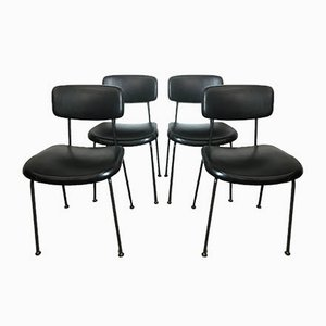 Italian Dining Chairs from Olivetti Synthesis, 1960s, Set of 4