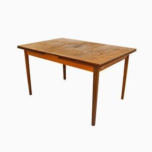 Danish Extendable Dining Table, 1960s