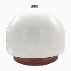 Large Space Age Mushroom Perspex Table Lamp, 1970s