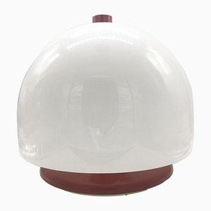 Large Space Age Mushroom Perspex Table Lamp, 1970s