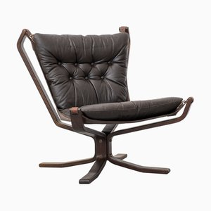 Danish Leather Superstar Lounge Chair, 1970s