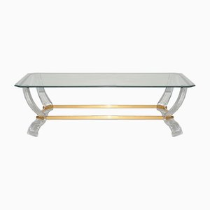 Vintage French Coffee Table, 1980s