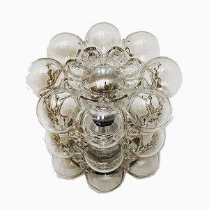 Bubble Glas Wand- oder Deckenlampe von Helena Tynell für Limburg, 1960er