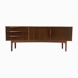 Mid-Century Scottish Walnut Sideboard by Tom Robertson for McIntosh, 1970s