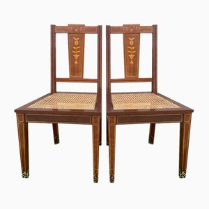 Mid-Century Side Chairs, 1950s, Set of 2
