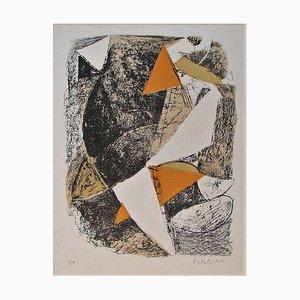 Cheval et Cavalier Lithograph by Marino Marini, 1963